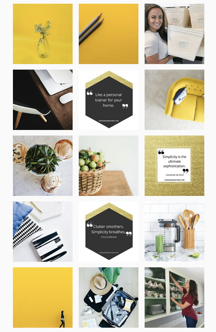 Instagram Content   Instagram content developed for an upscale home service brand looking to make a splash in the industry.