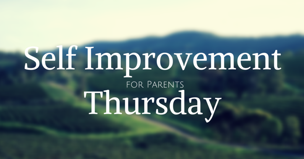 self improvement for parents