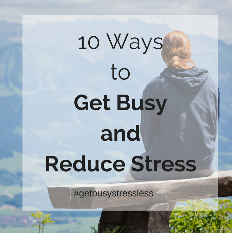 get busy stress less productivity challenge