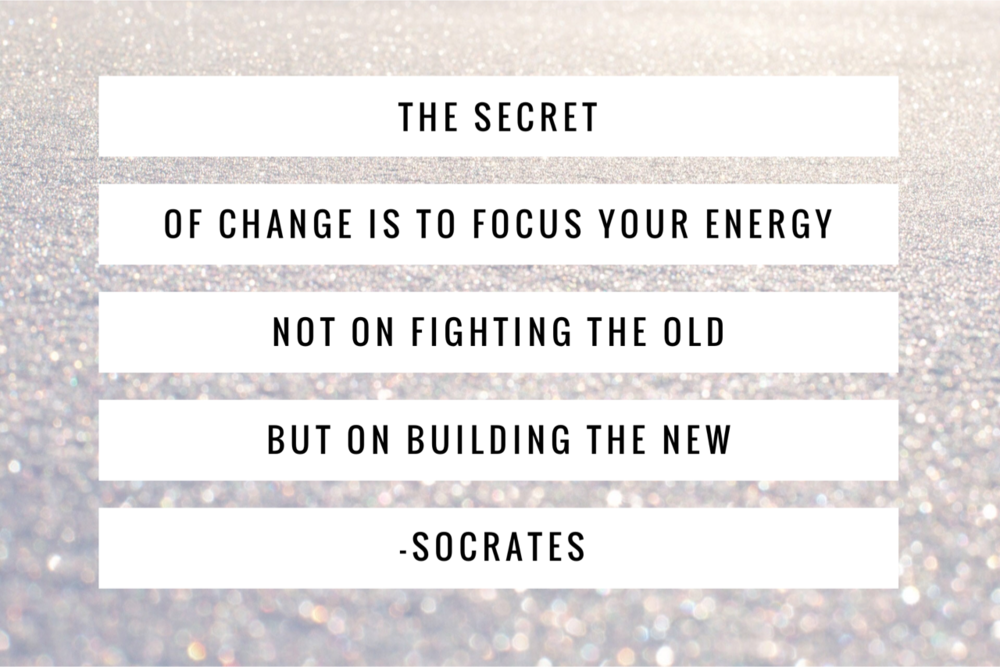 The secret to change according to Socrates