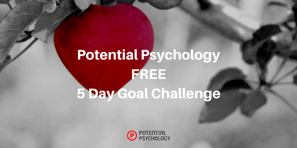 Potential Psychology FREE 5 Day Goal Challenge