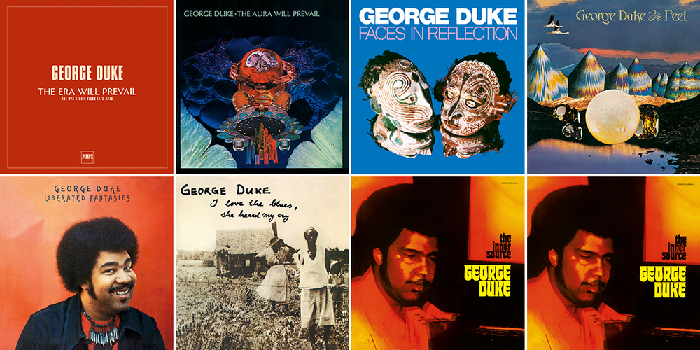 George Duke - The Era Will Prevail, 7 vinyls in a box