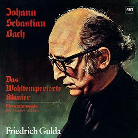 J.S.Bach/ Friedrich Gulda - Das Wohltemperierte Klavier –5 vinyls in a box