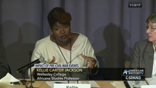 Conference held at Yale University, Speaking on Black Leadership, John Brown, and Harper's Ferry