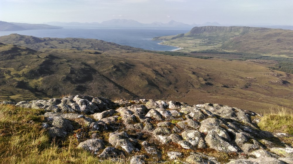 Cleadale from the Sgurr.