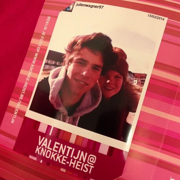 Kom je instagram foto ophalen bij de lovebox aan het rubensplein vandaag en morgen #knokkeheistgram