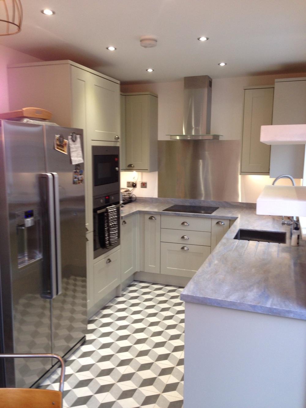 Full kitchen refurbishment.