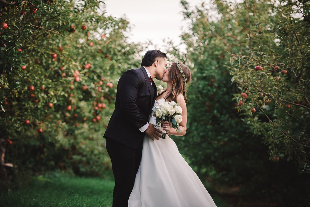DANA + STEPHEN  - ELEGANT APPLE ORCHARD WEDDING