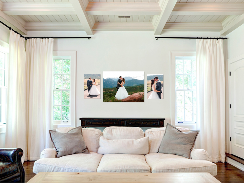 Wall Art Gallery - Weddings - Laura Robinson Photography