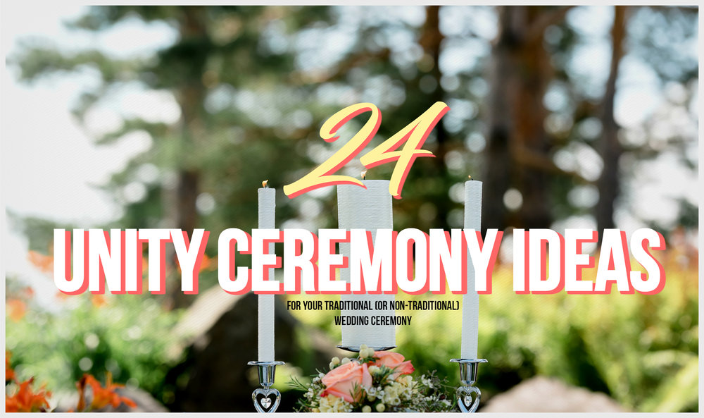 Wedding Ceremony Gifts: 24 Unity Ceremony Ideas For Your Traditional (or Non