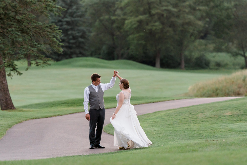 Dana + Kevin - OUTDOOR COUNTRY CLUB WEDDING
