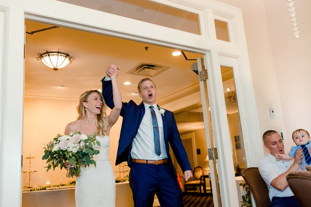 Minneapolis Golf Club Wedding - Grand Entrance - Laura Robinson Photography