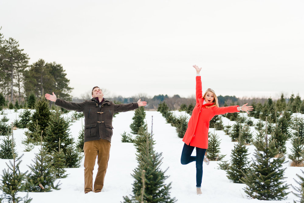 Justin and Mandy - Winter Engagement at Hansen Tree Farm Color-30.jpg