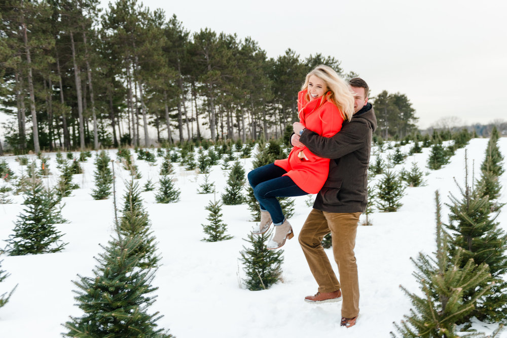 Justin and Mandy - Winter Engagement at Hansen Tree Farm Color-34.jpg
