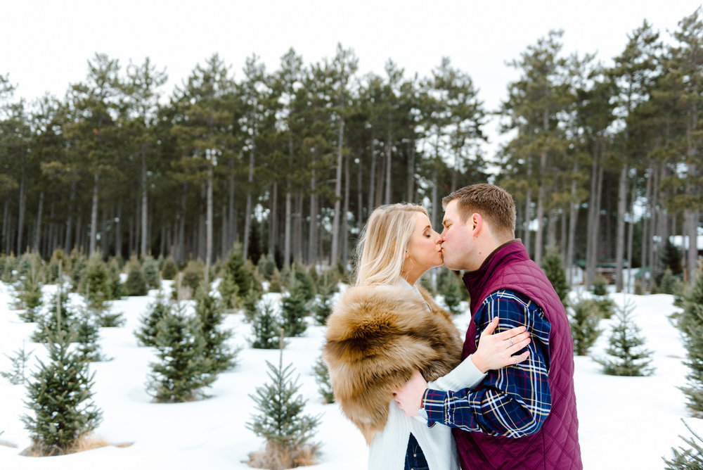 Justin and Mandy - Winter Engagement at Hansen Tree Farm Color-57.jpg