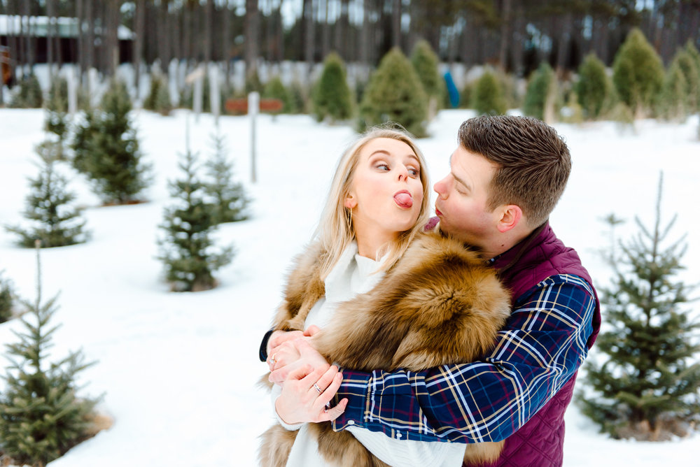 Justin and Mandy - Winter Engagement at Hansen Tree Farm Color-59.jpg