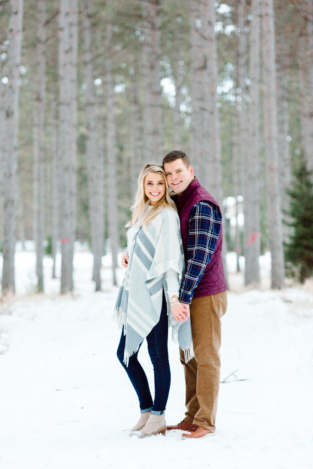 Justin and Mandy - Winter Engagement at Hansen Tree Farm Color-77.jpg