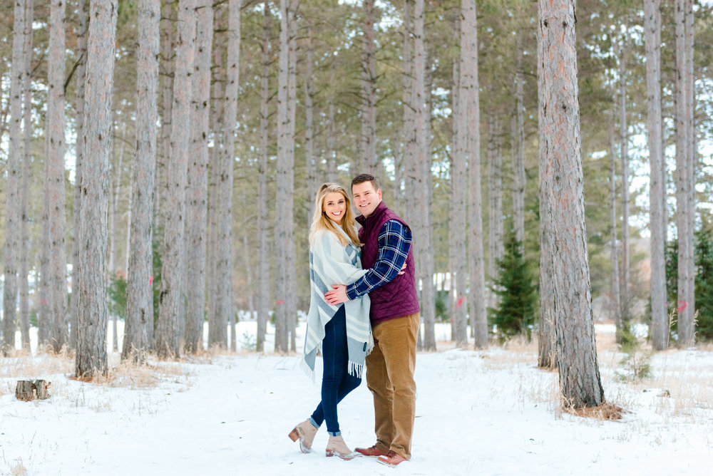 Justin and Mandy - Winter Engagement at Hansen Tree Farm-65.jpg