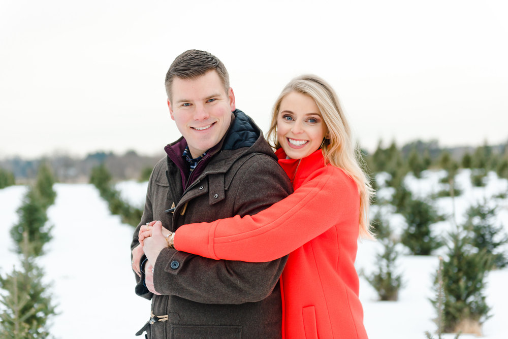 Justin and Mandy - Winter Engagement at Hansen Tree Farm Color-22.jpg