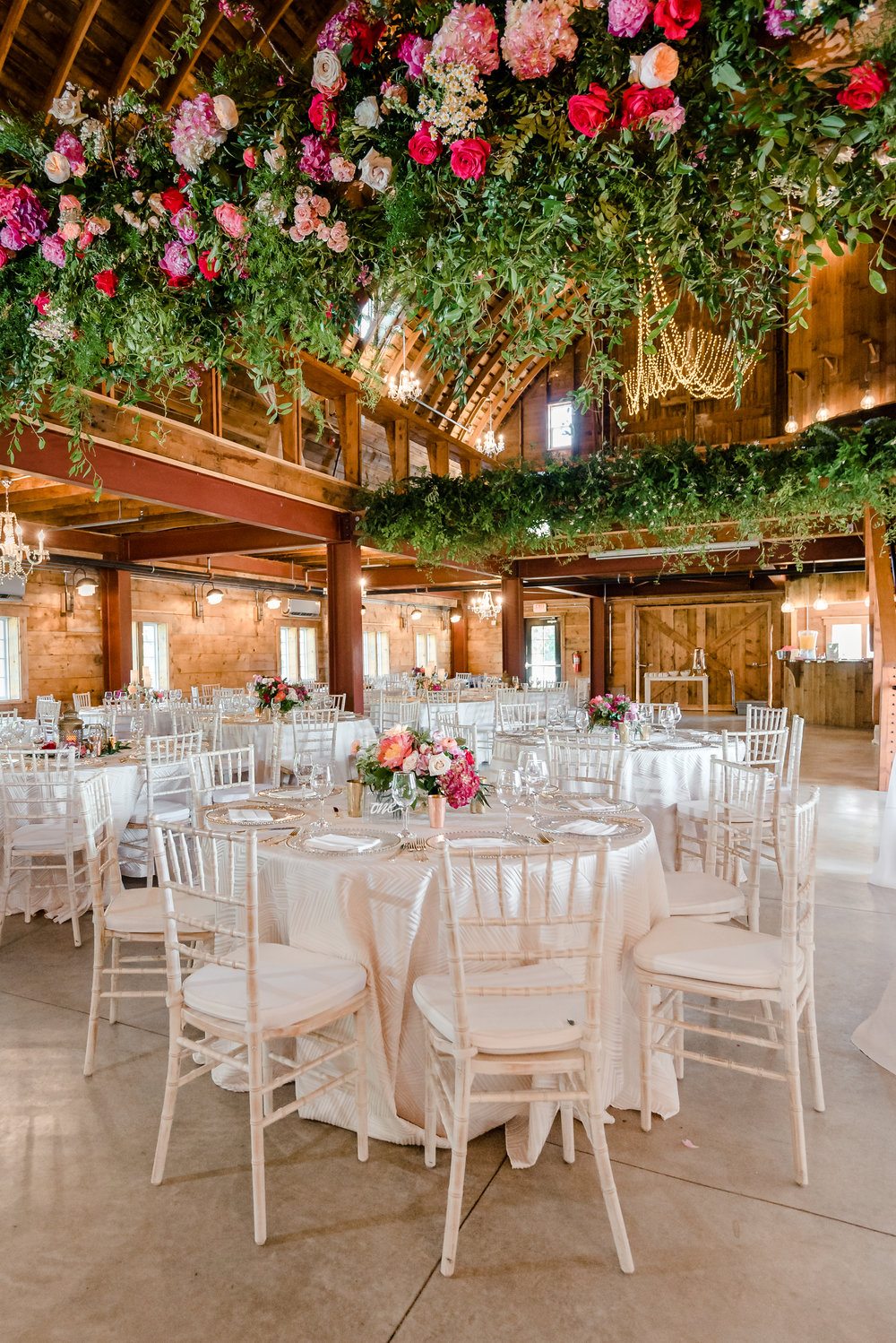 Furber Farm Wedding Reception with Munster Rose and See Jane Plan Wedding Planner - Best MN Wedding Photographer