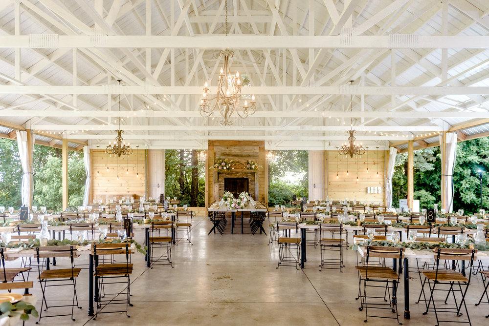 Legacy Hill Farm Wedding Photos of Reception Pavillion - Best Outdoor Wedding in MN - Minnesota Wedding Photographer Welch MN