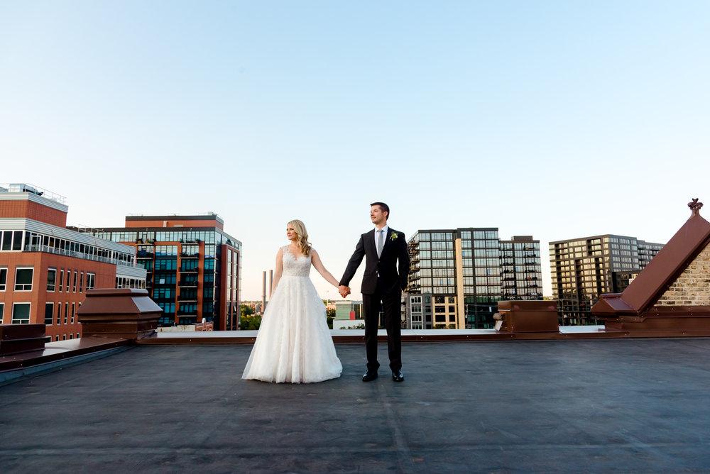 DAY BLOCK EVENT CENTER - MINNEAPOLIS WEDDING - kRISTEN + ERIC
