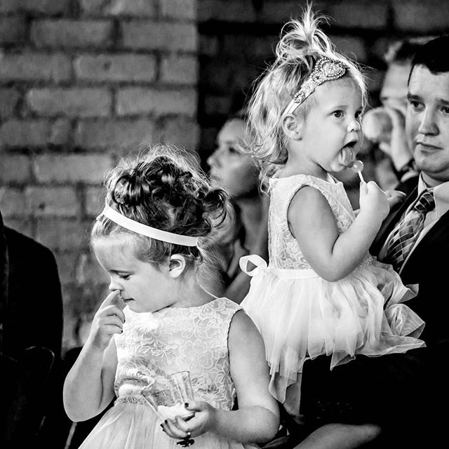 .... That moment when I had to stifle a laugh in the middle of an emotional ceremony...because, kids. 🤣 ⠀⠀⠀⠀⠀⠀⠀⠀⠀ So much of my job is watching... waiting.. .anticipating moments like this.  It comes down to about 50% luck (I mean, these two cuties were destined to give me gold!) and 50% skillful anticipation... reading the room, waiting for that split moment that I just KNOW is coming. ⠀⠀⠀⠀⠀⠀⠀⠀⠀ BINGO! ⠀⠀⠀⠀⠀⠀⠀⠀⠀ #wpja #weddingphotojournalists #fearlessphotographers #mnwedding  #dayblockeventcenterwedding #minneapoliswedding #flowergirl #kidswillbekids #ispwp #kids #minneapolisweddingphotographer #mnweddingphotographer #dayblockeventcenter #realwedding #weddingphotography #minneapolisphotographer  #theweddingschool #weddingguests  #documentaryweddingphotography