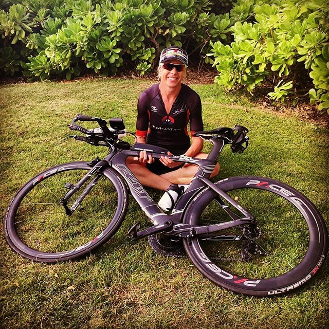Stella Foley hits the Big Island this weekend for the Ironman World Championships. We set her up on a 4.0 front and 6.0 rear combination as typically the winds get blustery out on the Queen K. With the effort Stella has put in over the past year to get the start line, we're sure she's going to have an incredible race.