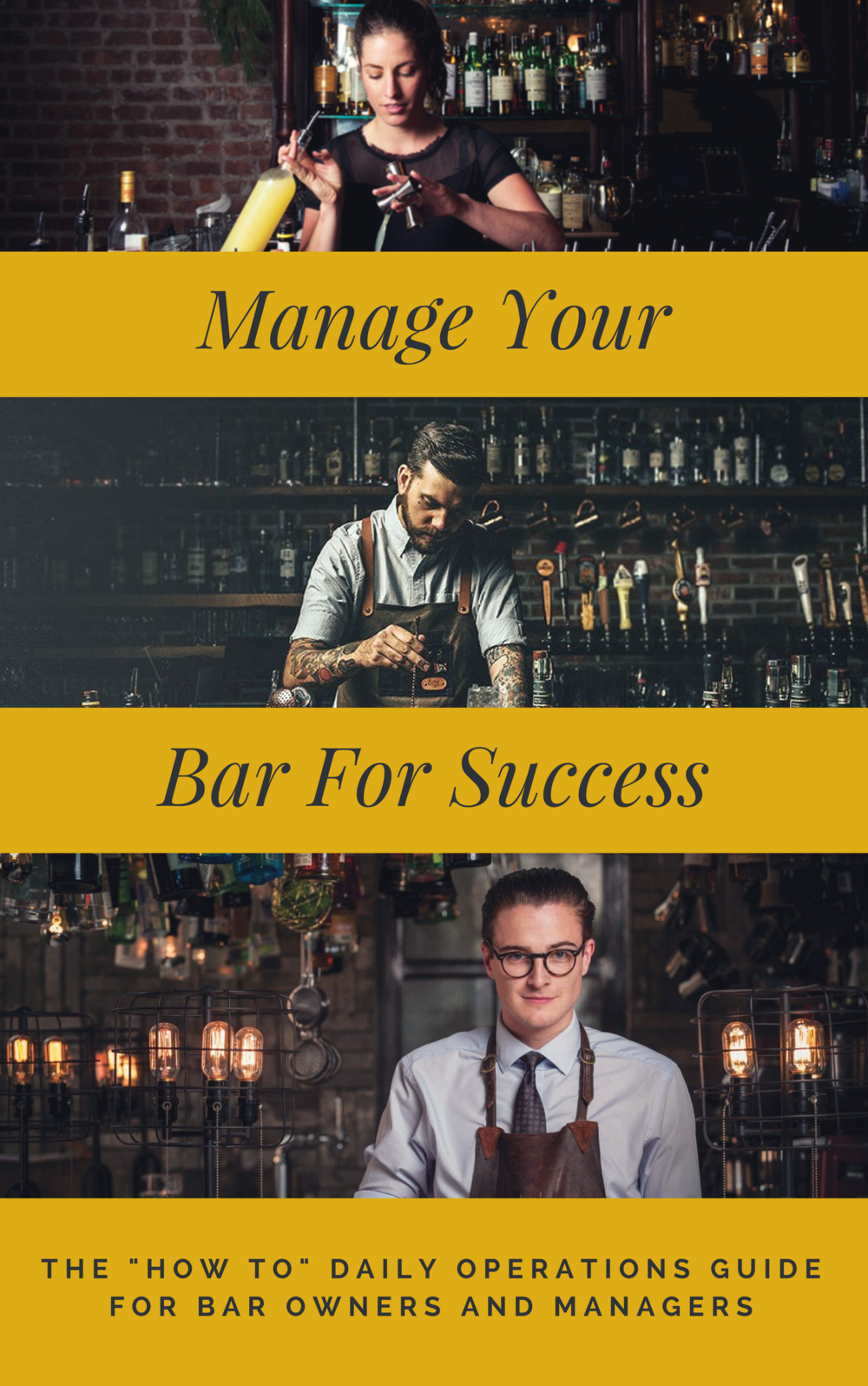 New!  Get years of bar management experience overnight! - and properly operate the biggest revenue generator in your pool hall business. $79.95CLICK HERE to learn more
