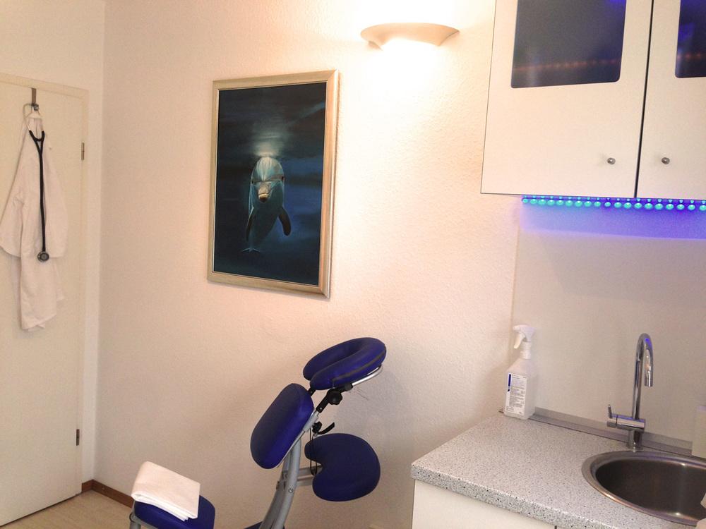 Andrea Weineck - Behandlungszimmer Nr.2