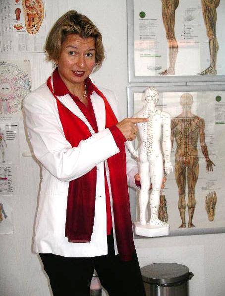 Andrea Weineck bei einem Vortrag