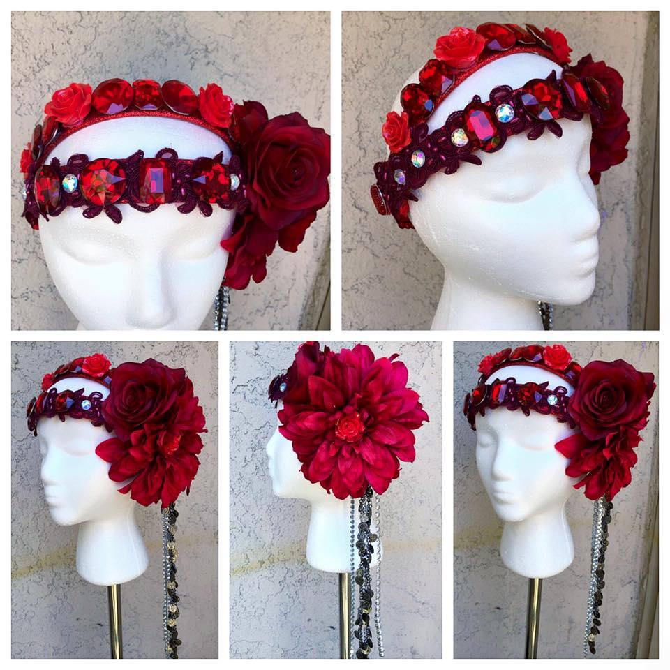 Gypsy Floral Crown
