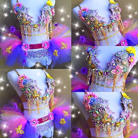 Fairy Plunge Bra and Half Tutu