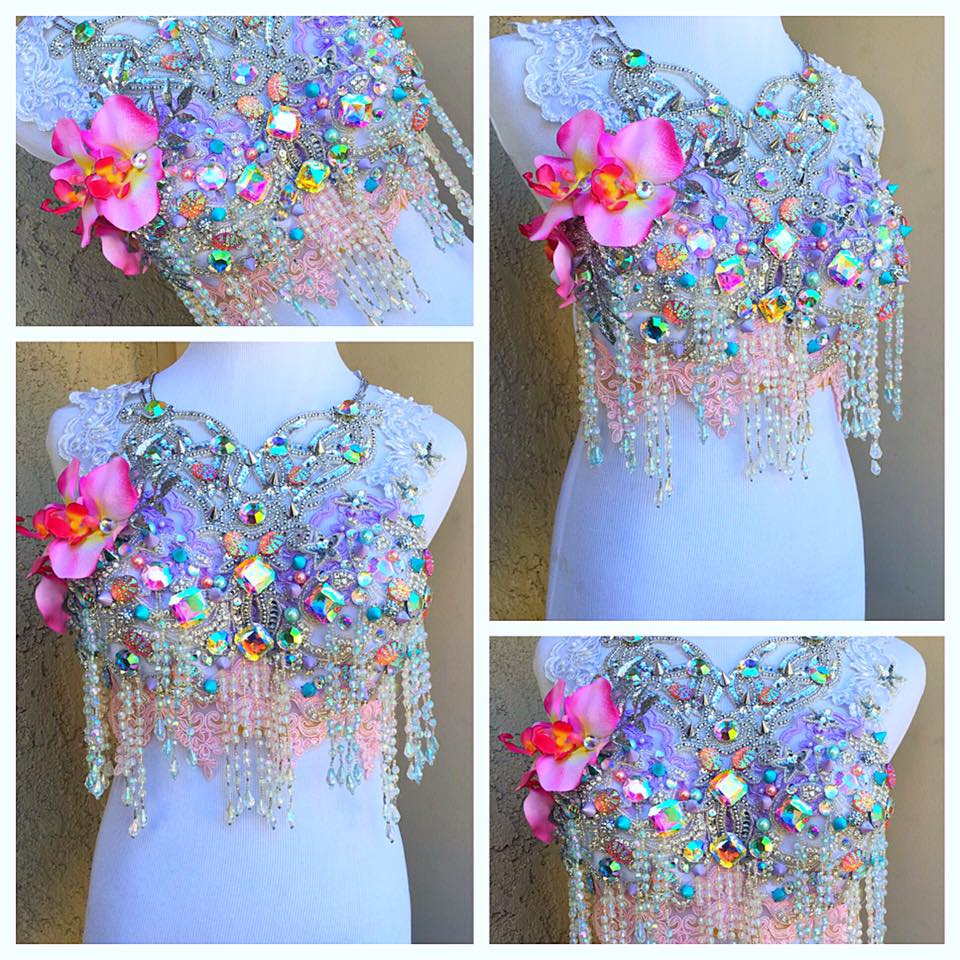 Diamond Doll Rave Bra