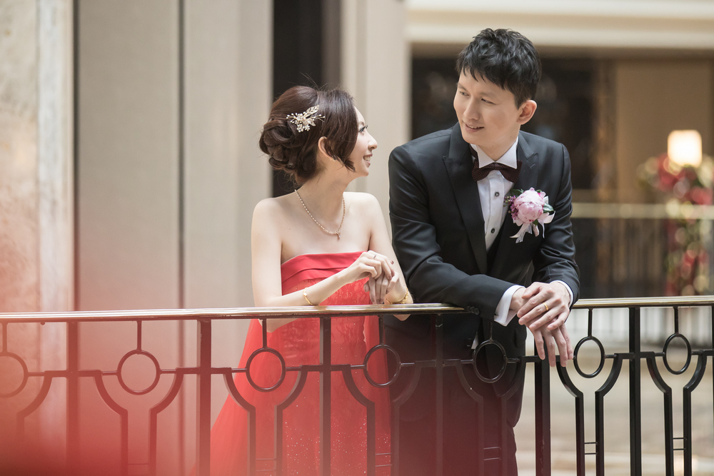 婚禮攝影: Amanda & Jeff @ 台北君悅酒店 新祕造型: 昀臻 婚攝: 之玲L. + Ray Wang + Peter Make-up Artist: Janice Tsai Location: Grand Hyatt Taipei, Taipei, Taiwan Photographer: LINCHPIN M.