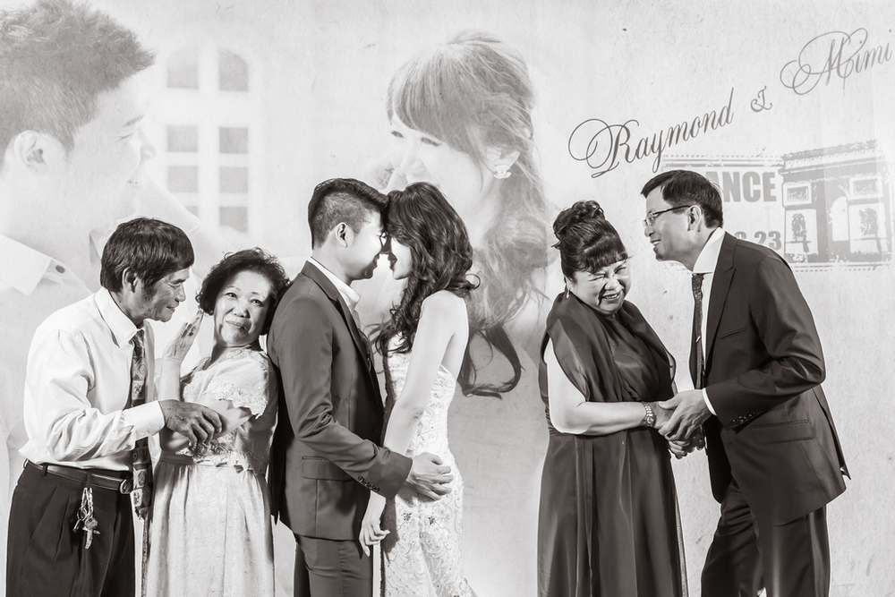 WEDDING: Raymond & Mimi