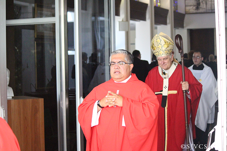 Msgr. Roberto Garza, Rector of St. John Vianney College Seminary