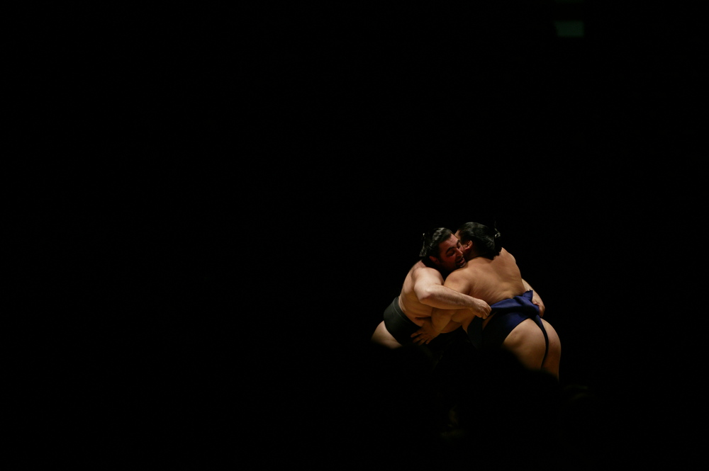 Sumo wrestling championships.