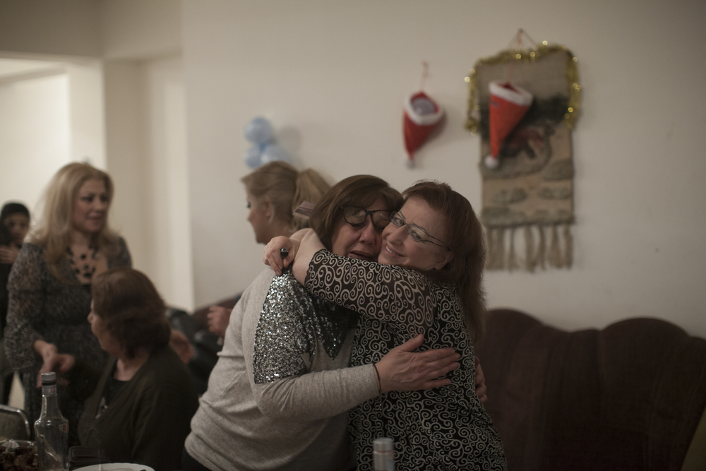 Far from home, New Year's celebrations were bittersweet for many Syrian-Armenians.