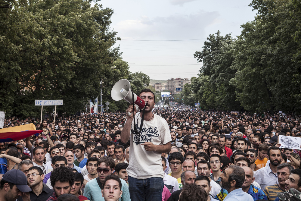 Fourteen Electrifying Days  - The following photos chronicle the two-week standoff (June 22 – July 6) between police and Armenians outraged at the decision by the Public Service Regulatory Commission to increase electricity prices.