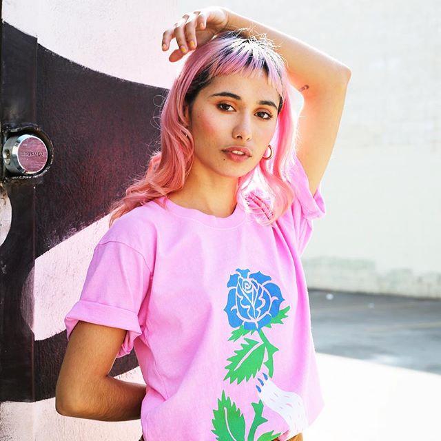 @floresitasbonitas wearing @gentlethrills 💖🌿 #dtla #losangeles #portrait #portraits #model #fashion #canon #streetphotogrgaphy