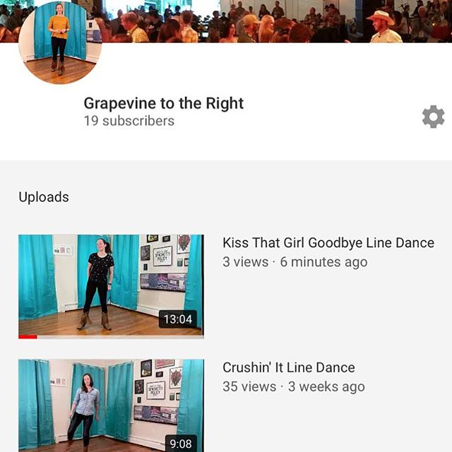 New dance, folks! I think my new thing is gonna be choosing the most awkward thumbnail image possible for all my videos 😜