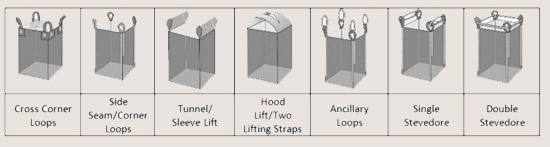 jumbo bag lifting option