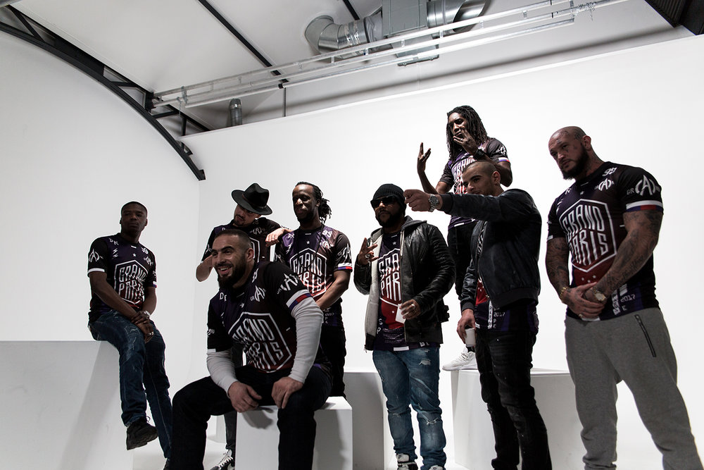 On the picture: Medine, Ninho, Lartiste, Youssoupha, Lino, Fianso, Alivor, Seth Gueko