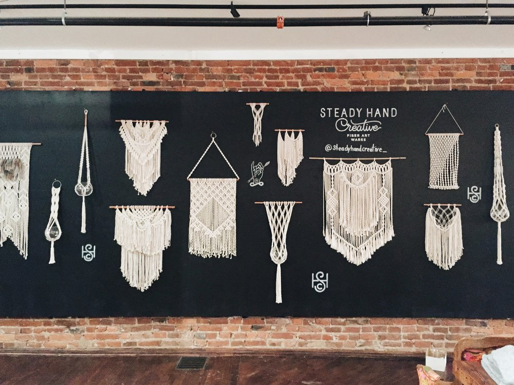 Art in the Age - Philadelphia based artists' collective-turned-tasting room and home bar supply | 2016 holiday residency.