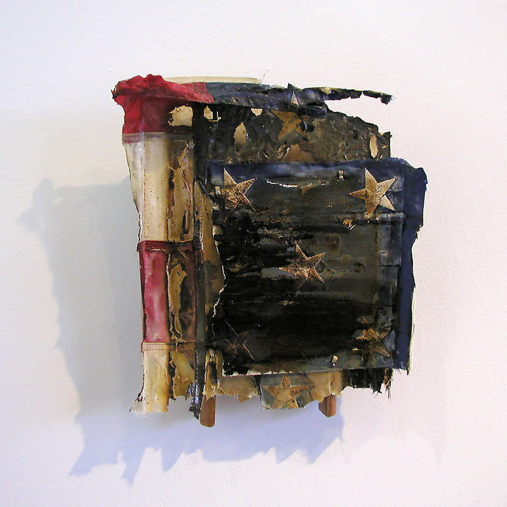 "Randall Garrett, ""Relic"" (1992), mixed media sculpture, Collection of the artist"