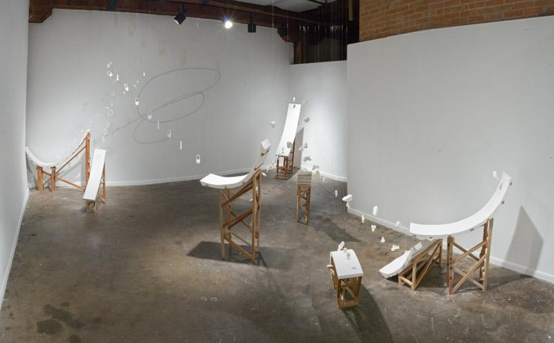 Installation at 500X Gallery