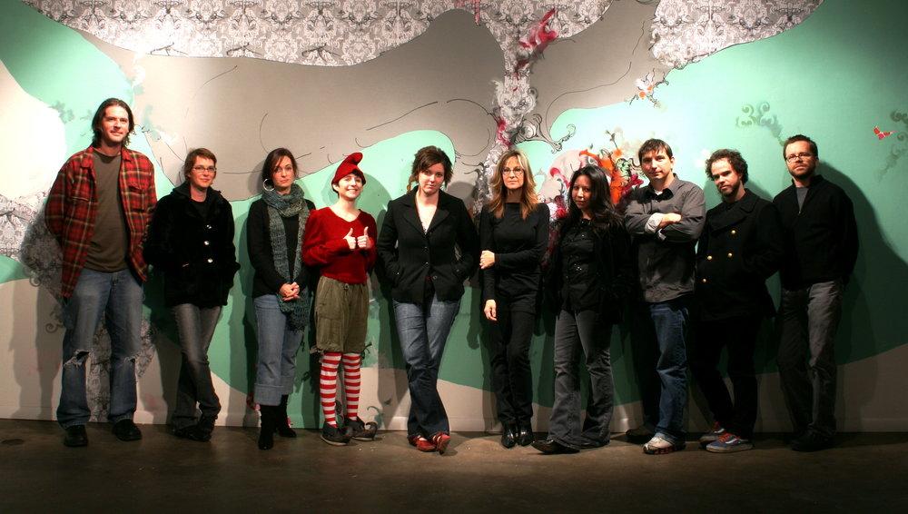 Members at 500Xmas in 2007.
