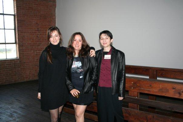 Left to right: Jessica McCambly, Sheena Croft, and Veronica DeAnda Tosten.
