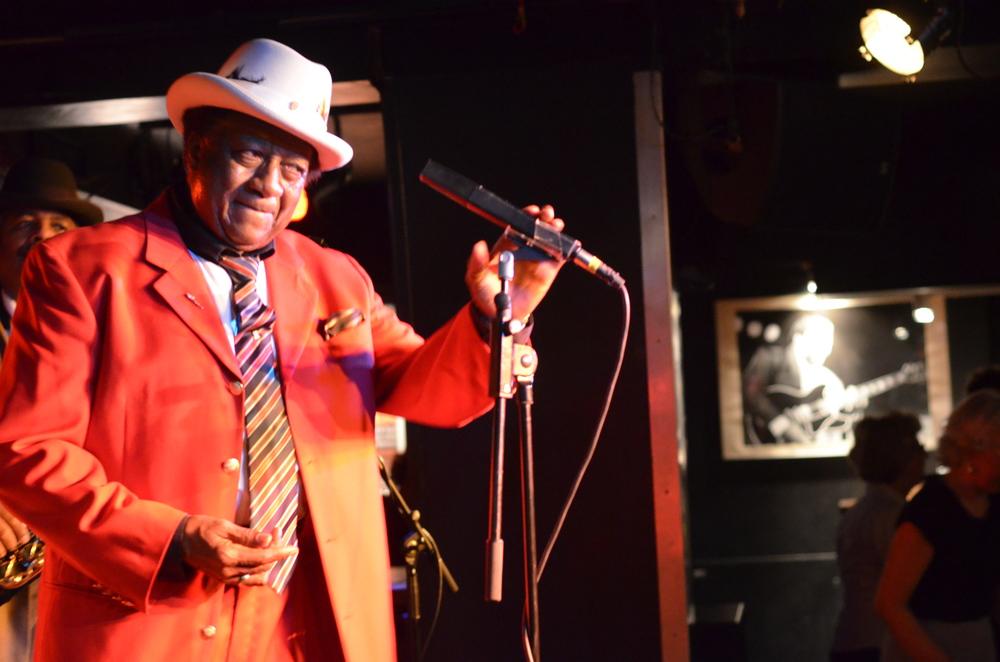 Eb Davis, Blues Ambassador. Photos by Amien Essif.